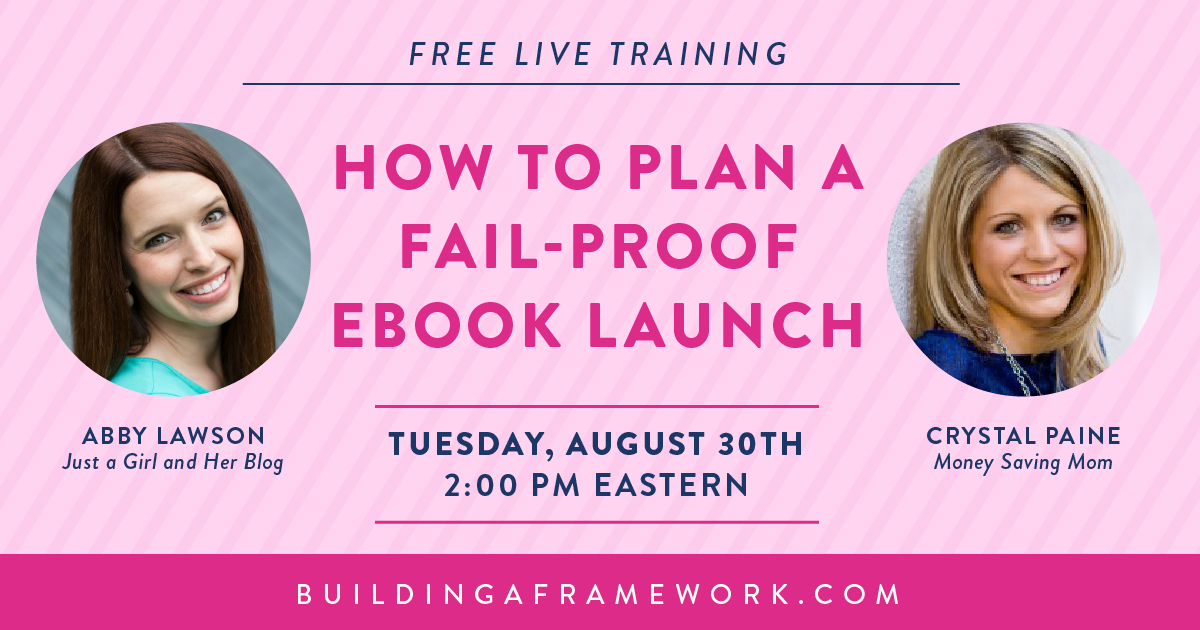 How to Plan a Fail-Proof Ebook Launch