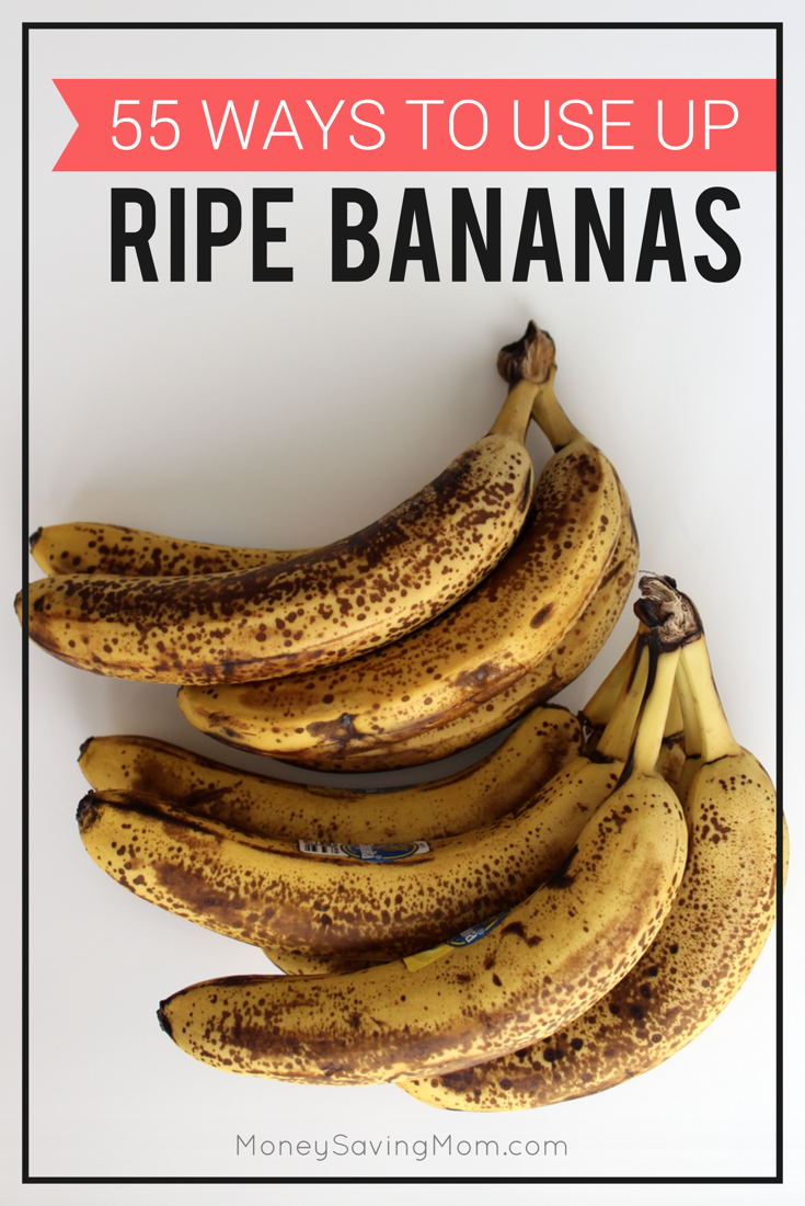 55 ideas for what to do with ripe bananas