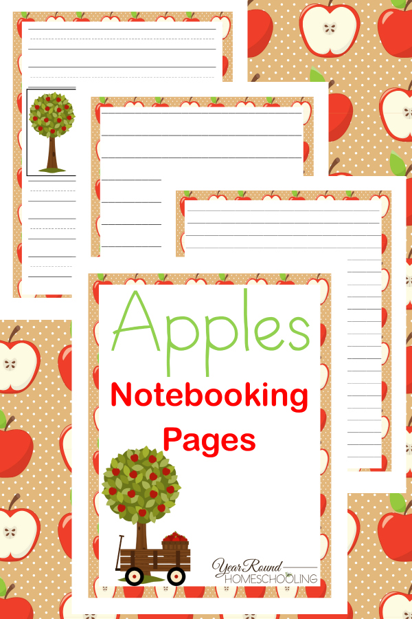 free-printable-apples-notebooking-pages