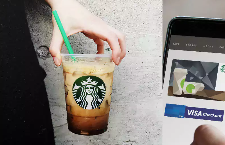 how to add gift card to starbucks app