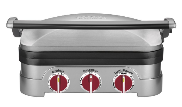 Get the Cuisinart 5-in-1 Griddler for just $49.99 shipped!