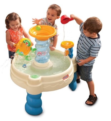 Get this Little Tikes Spiralin' Seas Waterpark Play Table for just $27.49!