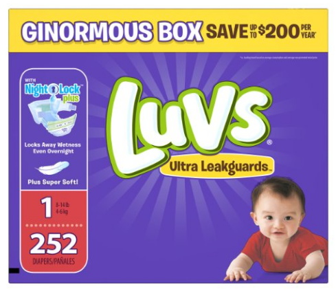 Get the Luvs Ultra Leakguards for just $0.09 per diaper, shipped right now on Amazon!