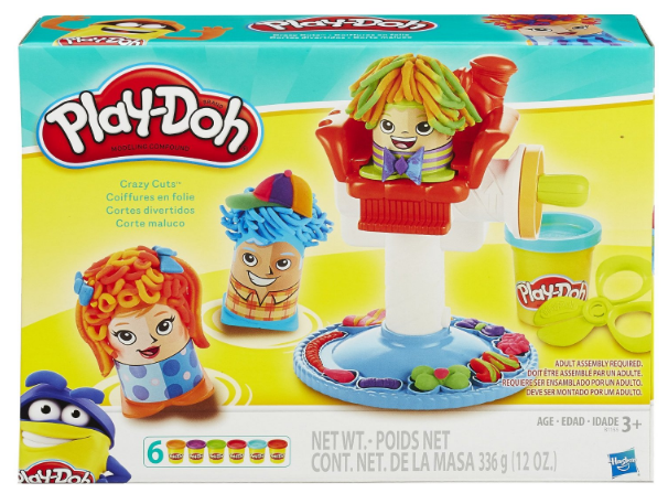 Amazon has this Play-Doh Crazy Cuts Set marked down to just $9.99 right now!