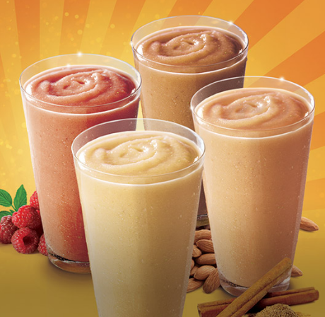 Print a new Smoothie King coupon good for buy one, get one free coffee smoothies!