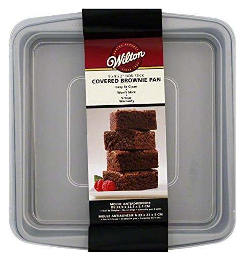 Amazon has this Wilton 9x9 Covered Brownie Pan for just $6.46 right now!