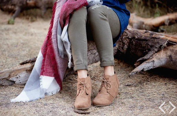 Get an Ankle Boots and Blanket Scarf Combo for just $29.95 shipped!