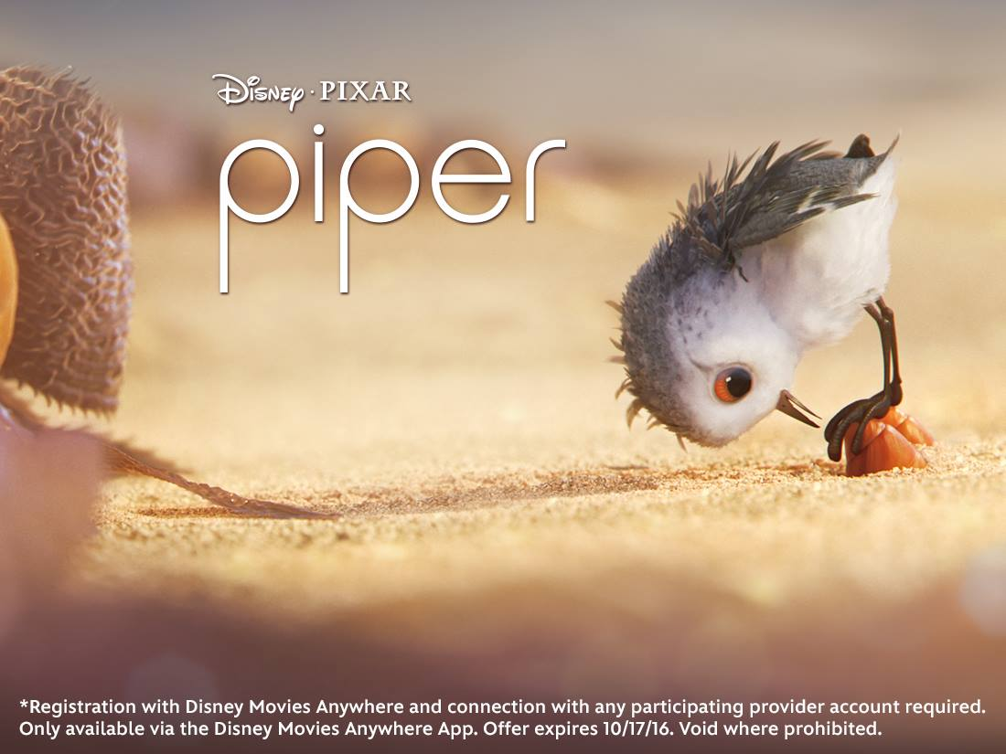 Watch the Disney Pixar Short Piper for free right now!