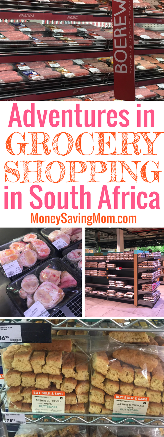 The ins and outs of grocery shopping and eating in South Africa!