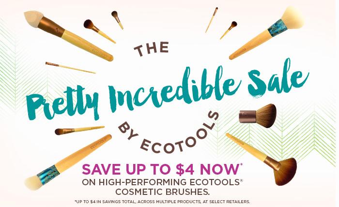 Save on EcoTools makeup brushes at Walmart and Walgreens +