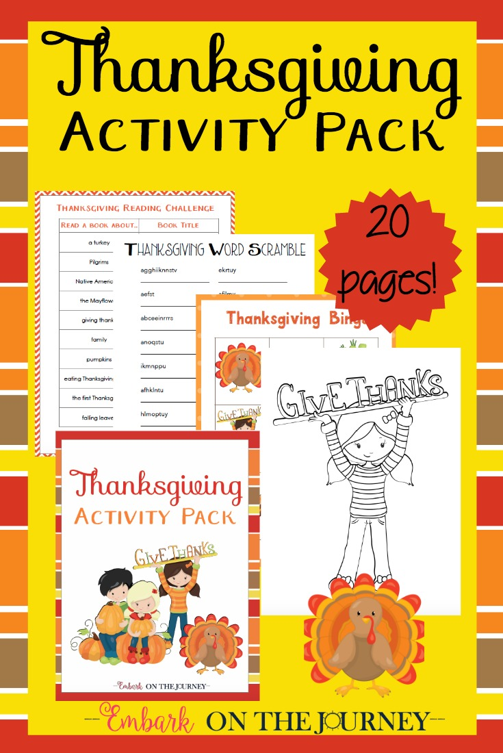 image about Printable Thanksgiving Activity called Absolutely free Printable Thanksgiving Recreation Pack - Revenue Preserving Mother