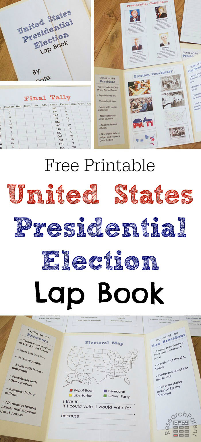 free-printable-united-states-presidential-election-lap-book