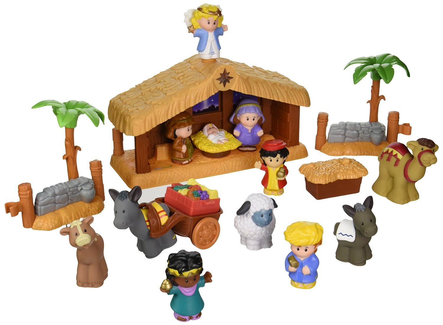 Get the Fisher-Price Little People Nativity Set for as low as $19.99 shipped right now!