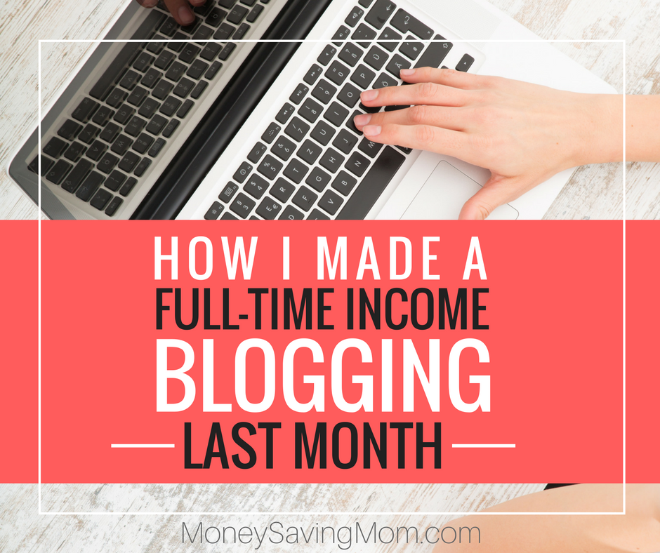 Make full-time money as a blogger!