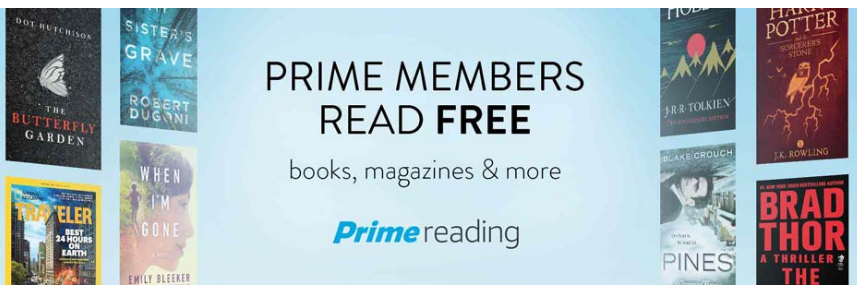 Prime Reading -- A New Amazon Prime Feature!