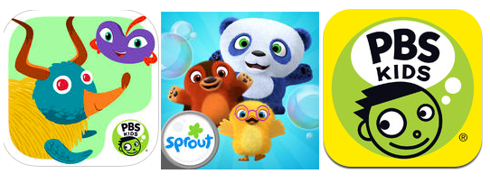 Free App Friday: 21 Free PBS Kids iTunes Apps!
