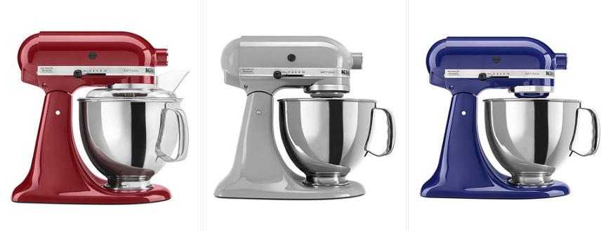 Kitchenaid Colors 2016 zulily: kitchenaid artisan series 5-quart stand mixer for just
