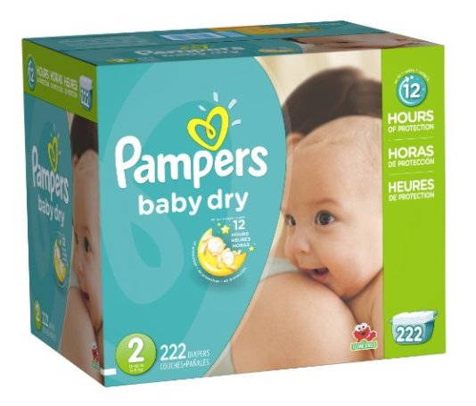 Get Pampers Baby Dry Diapers for just $0.11 per diaper shipped on Amazon right now!