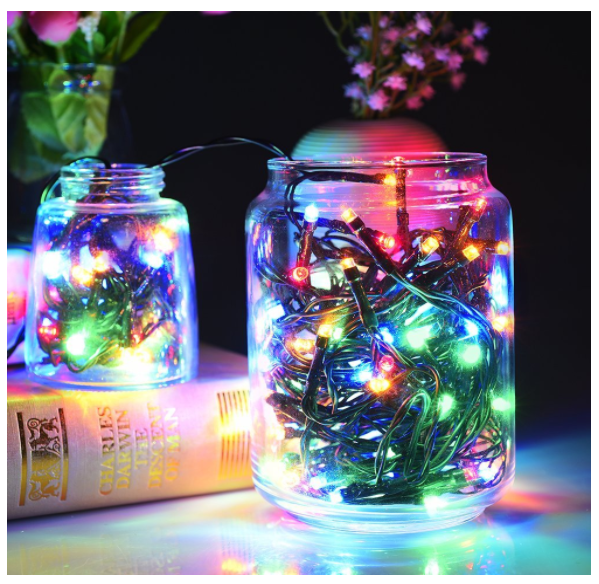 Amazon has Solar LED Multi-Color Outdoor Decorative Lights for just $6.99 after coupon code!