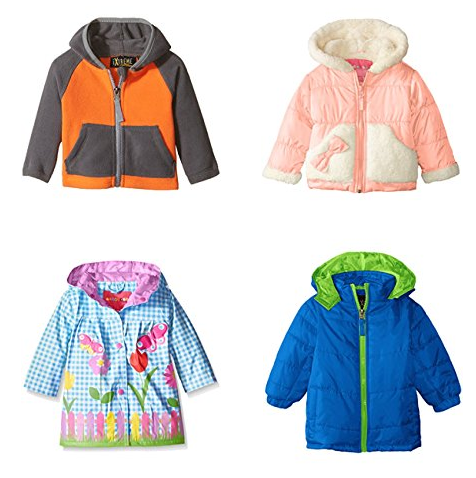 Get over 70% off kids' jackets on Amazon, with prices starting as low as $4.68!!