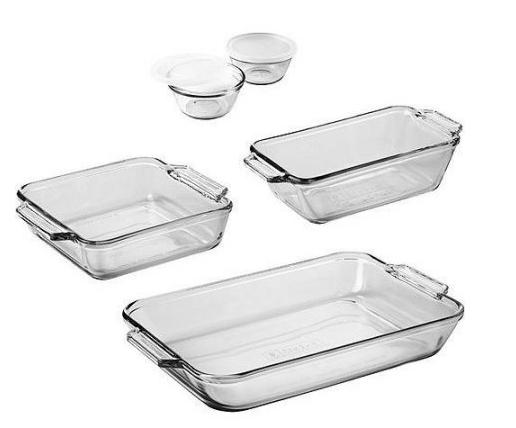 Get the Anchor Hocking 7-Piece Bakeware Set for just $9.97 at Walmart right now!