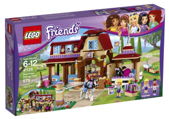 Get the LEGO Friends Heartlake Riding Club Building Kit for just $43.88 shipped at Amazon right now!