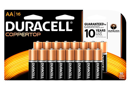 Today only, you can get a 16-pack of Duracell Batteries for just $0.01 at Office Depot/OfficeMax after rewards.