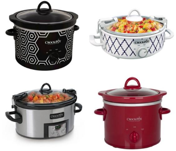 Get Crock-Pot Slow Cookers as low as $6.74 shipped at Target.com right now!