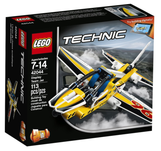 Amazon has this LEGO Technic Display Team Jet Building Kit for just $9.74 right now!