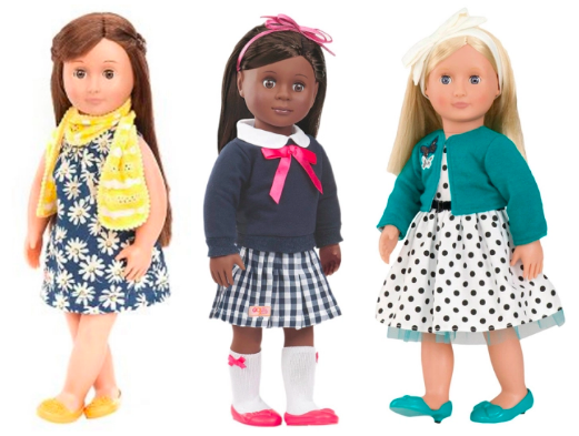 "Get the Our Generation 18"" Dolls for just $19.99 shipped from Target right now!"