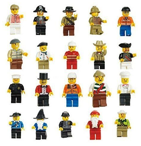 Get a Set of 20 LEGO Minifigures for just $4.76 shipped!