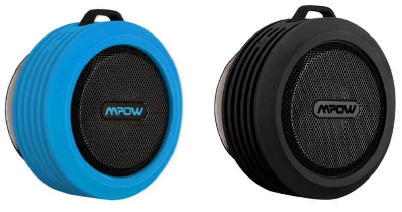 Get this Wireless Bluetooth Waterproof Shower Speaker for just $10.99 right now on Amazon!