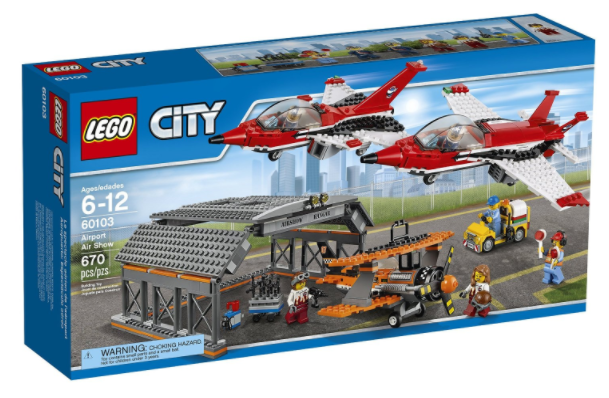 Amazoncom Lego City Airport Air Show Building Kit For Just 5759
