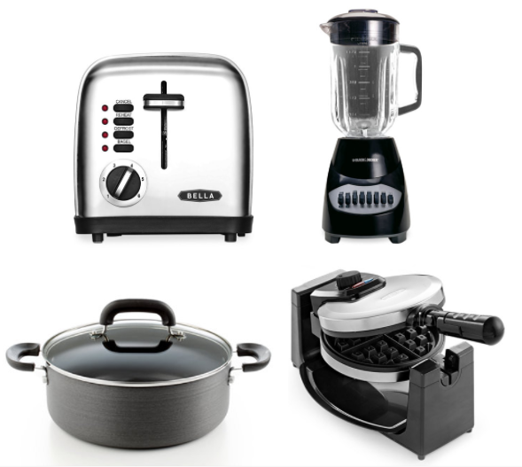 Macy's: Ktichen Appliances for just $9.99 each (Waffle Maker, Blender, Toaster, Cookware, plus more!)
