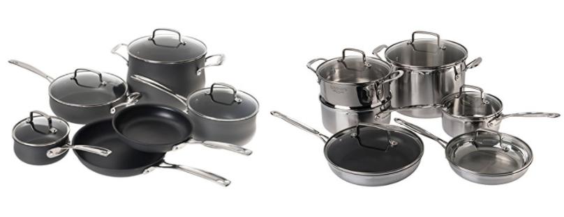 Get Over 70% Off Cuisinart Cookware Sets on Amazon today!