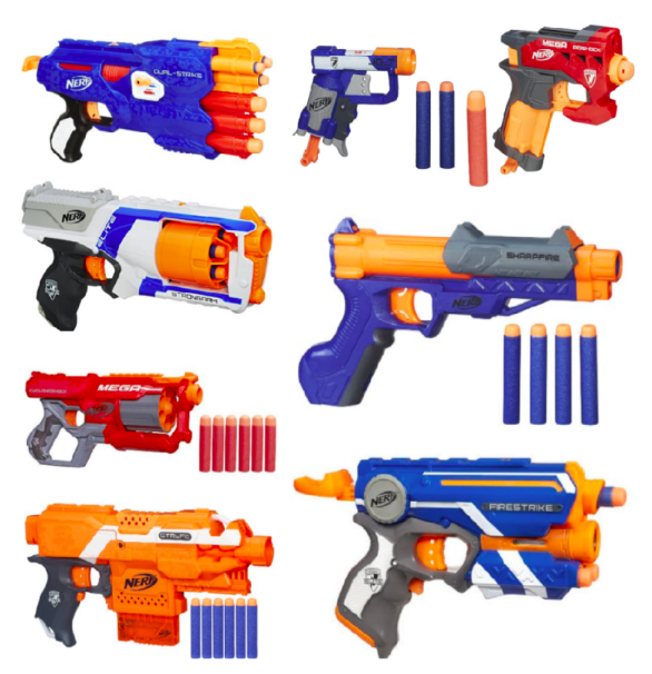Amazon.com: Nerf Blasters for as low as $7.91!