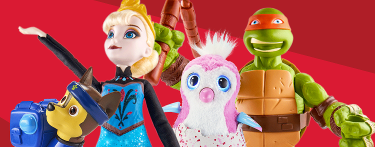 Get 50% off a different toy each day through December 24, 2016 at Target!