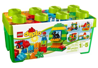 Get this LEGO DUPLO My First All-In-One Box of Fun for just $14.39 shipped!