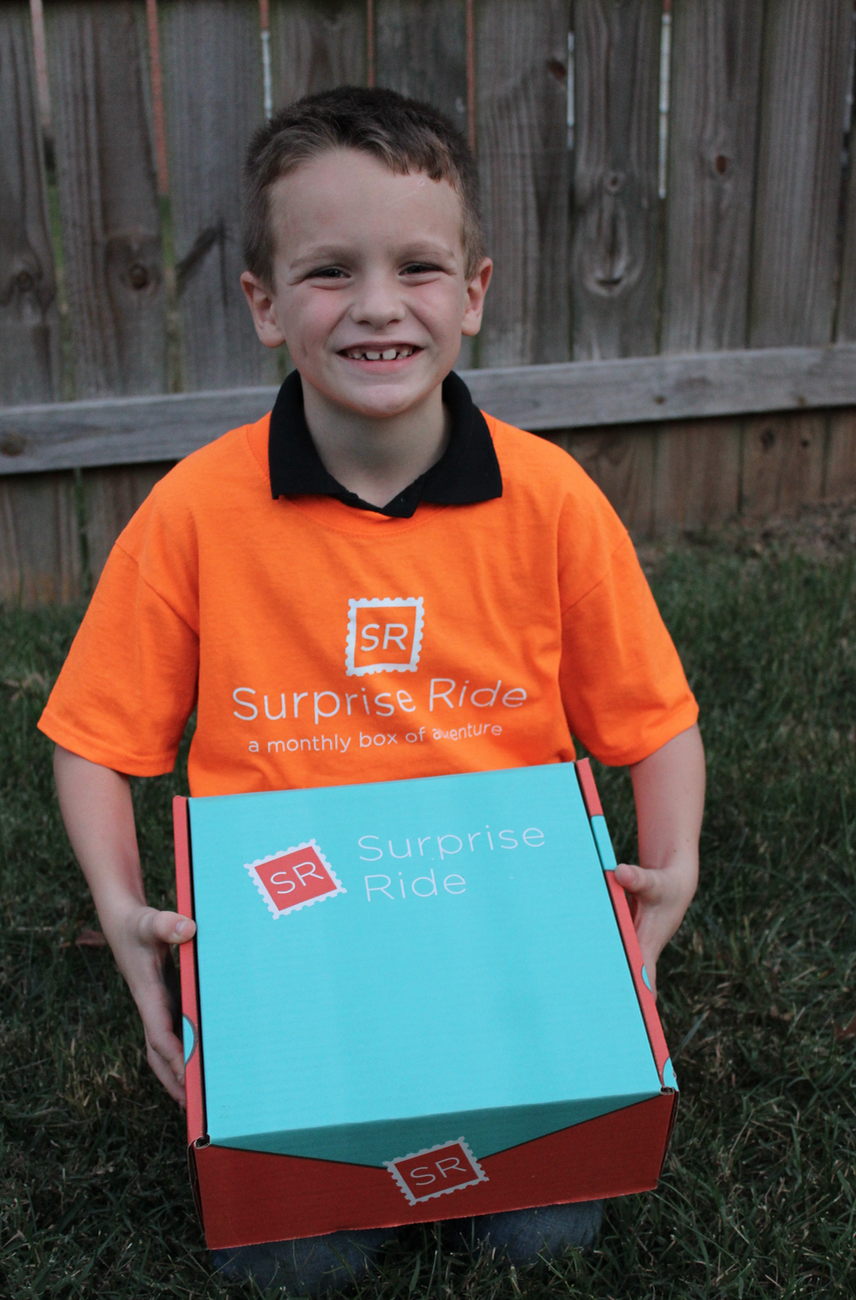 Get a FREE Surprise Ride Activity Box for Kids (just pay shipping!)