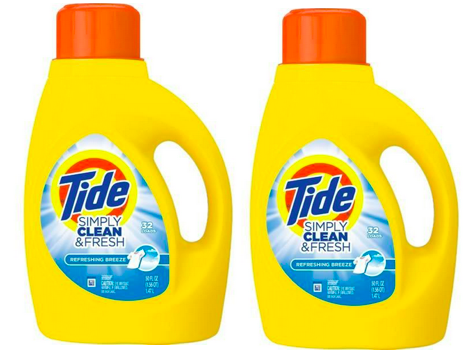Get Tide Simply Clean & Fresh Detergent for just $1.94 at CVS right now!