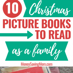 Christmas Picture Books to read as a family! This is a unique and frugal holiday tradition the kids will LOVE!