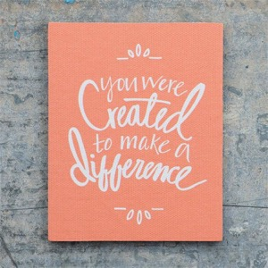 Created to Make a Difference Magnet