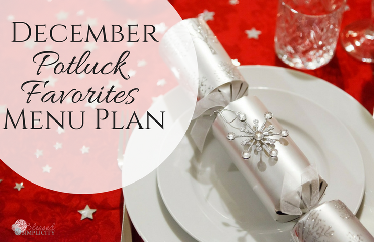 december-potluck-favorites-menu-plan