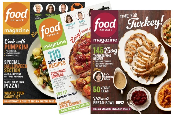 Food Network Magazine takes you behind the scenes with your favorite Food Network chefs, gives you entertaining ideas for holidays and occasions and brings you all-new easy recipes every month.