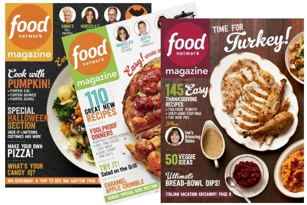 Free food network magazine subscription money saving mom money free food network magazine subscription forumfinder Choice Image
