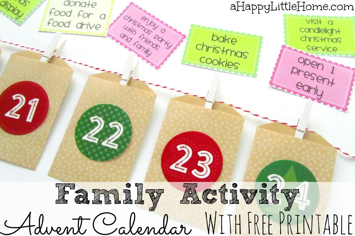 image relating to Free Printable Advent Calendar referred to as Cost-free Printable Relatives Match Introduction Calendar Playing cards Fiscal
