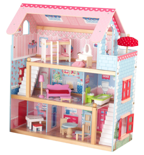 Get the KidKraft Chelsea Doll Cottage with Furniture for just $55.19 shipped on Amazon right now!