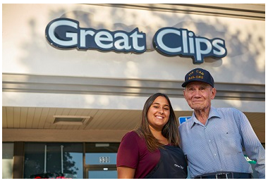 Great Clips: Free haircuts for veterans on November 11, 2016