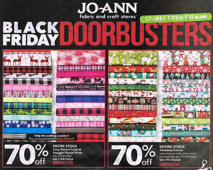 Joann Black Friday Ad 2016