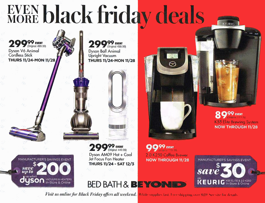 Bed Bath and Beyond Black Friday Ad 2016 Money Saving Mom
